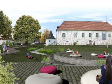 Wettbewerb Schloss Lengenfeld - Visualisierung